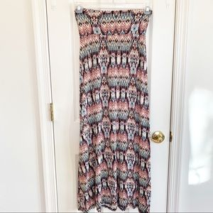 American Rag Tribal Print Maxi Skirt